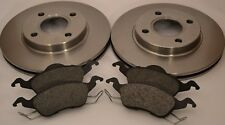 Ford Focus MK1 Front Brake Discs x2 & Brake Pads set 98-04 1.4 1.6 1.8 2.0