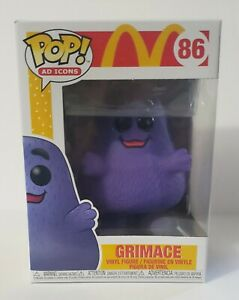 Funko POP Ad Icons Mcdonalds Grimace #86 Vinyl Figure
