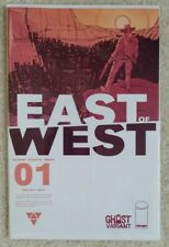 East of West 1-8 First Prints with #1 Ghost Variant 2013 Image Hickman Dragotta