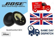REPLACEMENT LEATHER EAR PADS FOR BOSE QC3 / OE QUIETCOMFORT 3 CUSHIONS - NEW