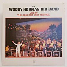 Woody Herman Live At The Concord Jazz Festival (CJ-191) Vinyl LP 1982 Big Band