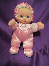 1995 Playskool My Very Soft Baby Doll with Squeeker