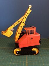 Rare Vintage Nylint Track Hoe Fully Working Toy Pressed Steel. Great Condition