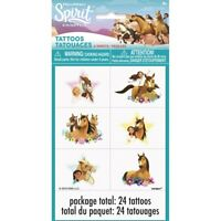 Spirit Riding Free Temporary Tattoos 24 Pack Party Bag Filler BNIP Birthday Loot
