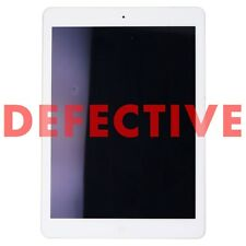 DEFECTIVE Apple iPad Air (1st Gen) Tablet A1474 (Wi-Fi ONLY) - 32GB / White