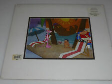 Pink Panther Original Production Animation Cel W Certificate Coa Sketch Goldwyn