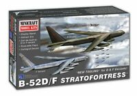 Minicraft B-52D/F Stratofortress 1:144 scale model airplane kit 14734