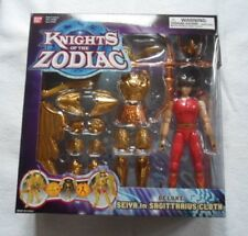 Knights of the Zodiac Deluxe Seiya iN SAGITTARRIUS CLOCK Figure - Collector