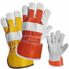 Leather Working / Rigger / Gardening / Work Gloves STANDARD Size Heavy Duty