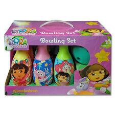 Nickelodeon Dora the Explorer Bowling Set Birthday Gift Toy for Kids
