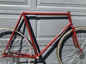 RARE W.J Lindsay Track bike frame 58cm 59cm 60cm campagnolo vintage 1975 #1
