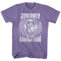 OFFICIAL Journey Arrival Tour Vintage Men's T-shirt Rock Band Merch