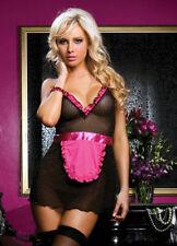SEXY NAUGHTY Waitress MAID COSTUME OUTFIT DRESS FANCY DRESS TUTU HEN NIGHT
