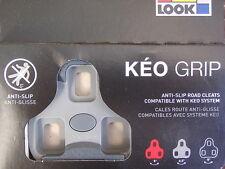 LOOK Keo Grip 4.5° Float Grey Road Bike Pedal Cleats *New*