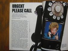 1985 TV Guide (DR.  RUTH  WESTHEIMER/CARMEN  THOMAS/GEORGE  WENDT/SHELLEY  LONG)