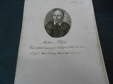 1814 ACQUAFORTE MATTEO RIPA MISSIONARIO DI EBOLI SALERNO