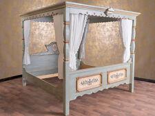 Voglauer Anno 1700 Himmelbett Doppelbett Ehebett Schlafzimmer 200x200 cm 2x2 m