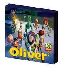 PERSONALISED TOY STORY CANVAS PICTURE