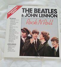 LES BEATLES & John Lennon  -  Coffret 3 disques vinyles