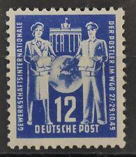 TREFF DDR MiNr 243 Plattenfehler VI postfrisch 150,-