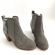 64c88d76927 Matt Bernson Gray Womens Size 9 Fashion Ankle Leather   Suede Boots