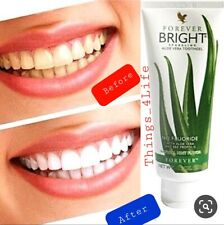 Forever living aloe vera Bright Tooth Gel Natural Mint Flavour No Fluoride 130gm