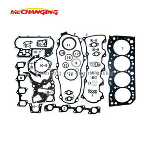 For TOYOTA HI-LUX LN HI-ACE DYNA 3.0 5L METAL Full Set engine gasket 04111-54080