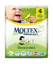 4er Pk 120 St MOLTEX Nature No1 Peanuts Öko Babywindeln MAXI Gr 4 (7-18 kg 4x30