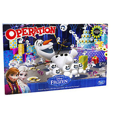 Hasbro Disney Frozen Olaf Operation Fun Kids  Board Game