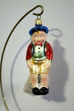 Christopher Radko Waldo/Boy/Berret/Child Christmas Ornament, New, 940171