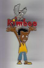 RARE PINS PIN'S .. BD COMICS CARTOON KIMBOO G. GAY SERIE  TV FRANCE AFRIQUE ~DB