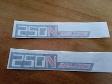 Honda 250 Super dream deluxe Sticker,