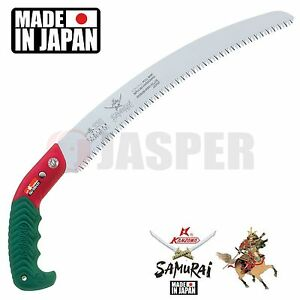 Samurai ICHIBAN GC-330-LH (33cm) Curved Hand Saw + Carrying Case. Made in Japan