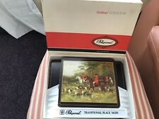 Vintage Pimpernel Tally Ho Traditional Collection Placemat Set 6 And 2 X Server.