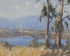 John Samuel Loxton 1903-1969 Watercolour Painting Silvan Mt Dandenong SFAA