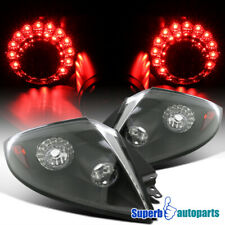 For 2006 -2011 Mitsubishi Eclipse LED Tail Lights Black Replacement
