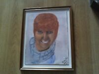Young Cilla Original Watercolour painted in August 2015