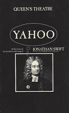 "Alec Guinness ""YAHOO"" Nicola Pagett / Angela Thorne 1976 London Revue Playbill"
