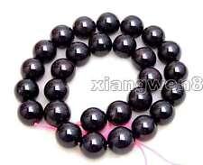 "SALE Big 13-13.5mm Natural Round high quality Brown garnet Beads strand 15""-147"