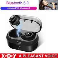 Casque stéréo sans fil Bluetooth5.0 TWS avec mini écouteurs intra-auriculaires z