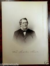 Antique Print 1912 WILLIAM L.SLADE Somerset, MA Massachusetts STEEL ENGRAVING