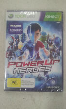 Power Up Heroes Xbox 360 Game (Requires Kinect Sensor) PAL (NEW & SEALED)