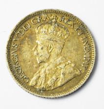 1919 Canada 10 Ten Cents Silver Coin KM# 23