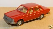 MICRO WIKING HO 1/87 VOLVO 264 ROUGE BRIQUE