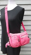 PINK KIPLING CROSSBODY SHOULDER BAG HANDBAG WITH MONKEY
