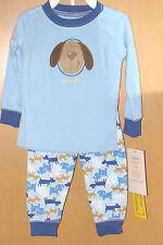 Carters 2-pc. PAJAMA Sleepwear Set (Boys 12M) Puppy Dog Blue Shirt & Pants NWT