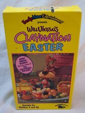 Will Vinton's CLAYMATION EASTER VHS VIDEO 1990