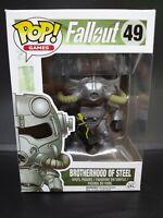 Pop Games Fallout Brotherhood of Steel Power Armor Funko Vinyl Figure 49 VAULTED