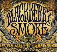 Blackberry Smoke : Leave a Scar: Live in North Carolina CD (2014) ***NEW***