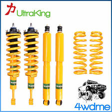 "Toyota Prado 120 Series HD Front & Rear Shocks + KING Coil Springs 2"" Lift Kit"